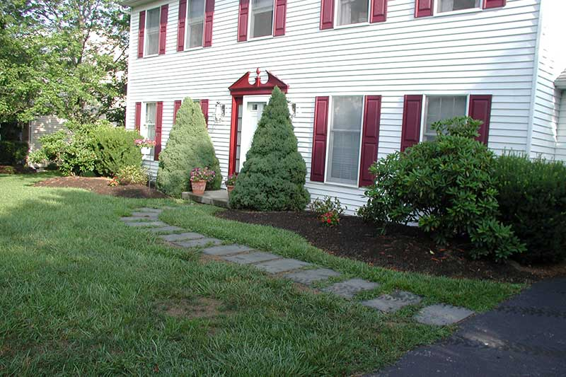 Front Walkway Before