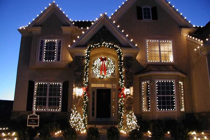 Del Vacchio Residential Christmas Decor